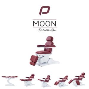 Behandelstoel Moon in Donkerrood